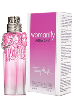 Thierry Mugler Womanity Aqua Chic Eau de Toilette 50mls