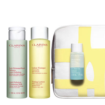 Clarins Cleansing Duo Value Set....