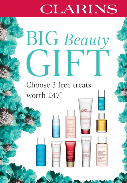 Clarins BIG Beauty Gift Available NOW