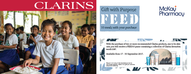clarins feed e-mail