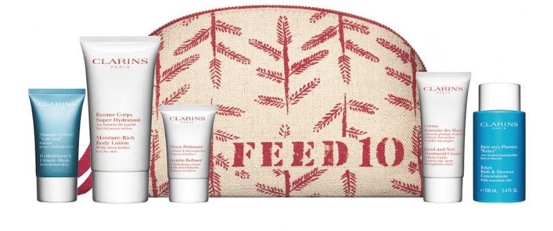 Clarins 'Feed' Gift with Purpose......