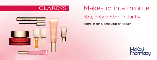 clarins make up offer email