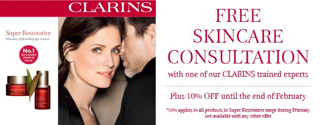Fabulous Feb with Clarins and Lancome