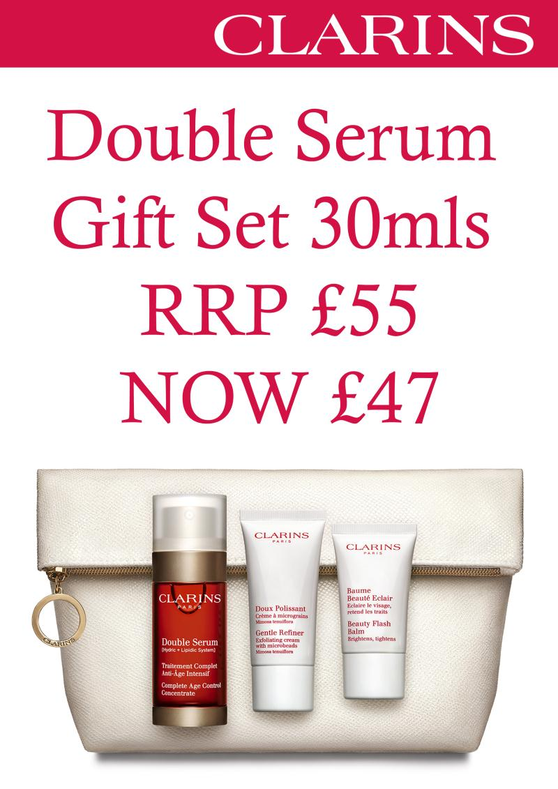 Clarins Double Serum Offer