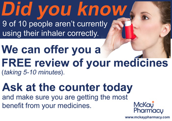 Attention Asthma and COPD Sufferers
