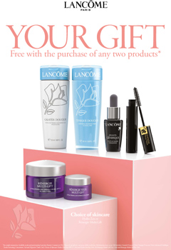 Lancome Gift. Call In Store Now